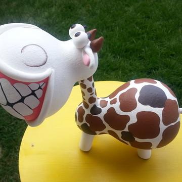 Mini Vaca de cabaça