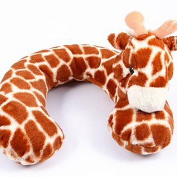 Protetor de pescoço com carinha de Girafa