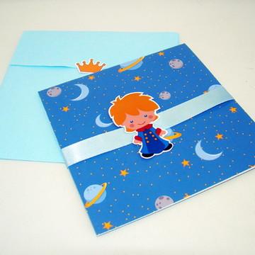 """Convite """"Pequeno Príncipe"""""""