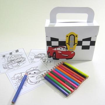 Lembrancinha Carros com Kit Pintura