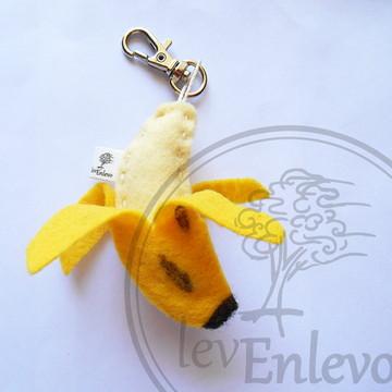 Chaveiro Banana