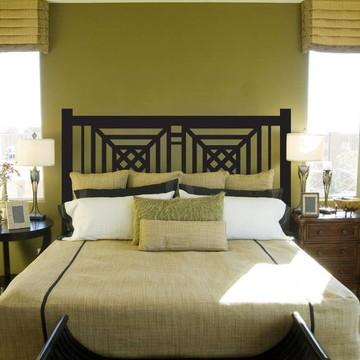Adesivo de parede para cabeceira de cama de casal