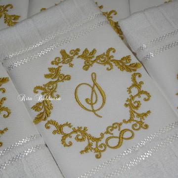 Toalha Lavabo Casamento 107