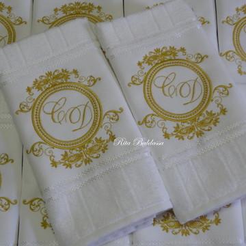 Toalha Lavabo Casamento 111