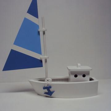 Barco enfeite de mesa decoração festa