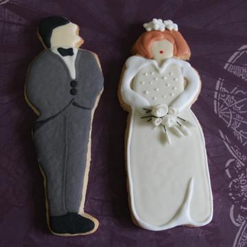 Cookie noivos