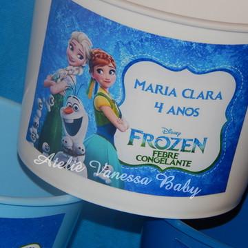 Balde personalizado Frozen Fever