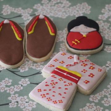 Cookie kokeshi