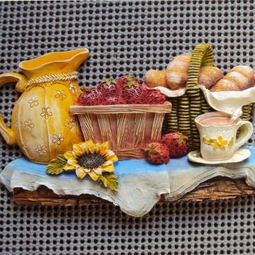 Peça de cozinha Mesa de Lanche (em resina).
