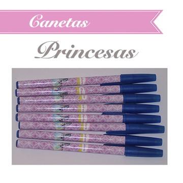 Caneta Personalizada Princesas