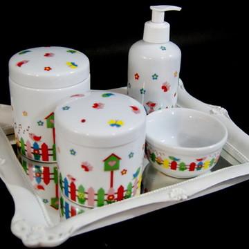 Kit Quarto Bebê , Porcelana Cerquinha