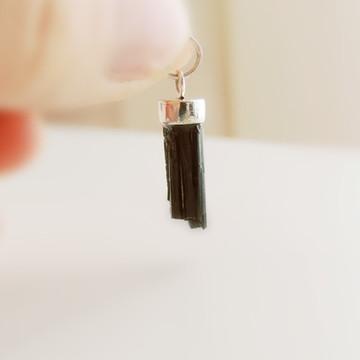 Colar Turmalina Negra - Prata 950