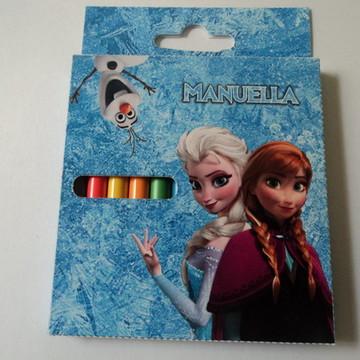 Caixa de Mini-Lápis de cor - Frozen