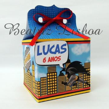 Super Heróis - Caixa personalizada