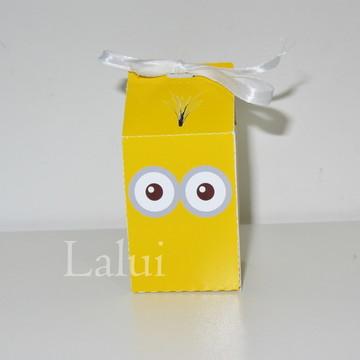 Caixa Milk Box P - Minnions