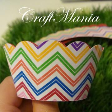 Wrapper(saia) Cupcake Impressao Especial