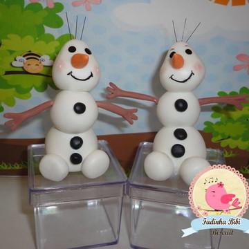 caixinha lembrancinha Olaf Frozen