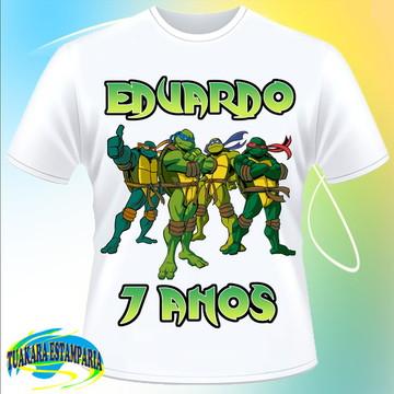 Camiseta Tartarugas Ninja/Turtles