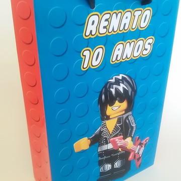 Sacolinha Lego - média