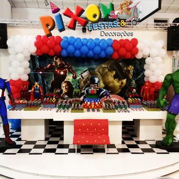 Decoração Vingadores Festa Infantil