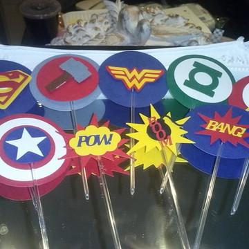 Topper Super Herói