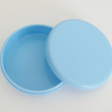 Latinha de Plastico azul bebê