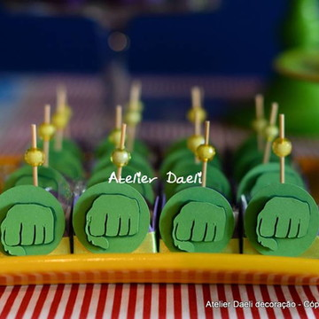 Forma para docinhos Hulk