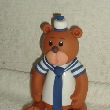 Urso marinheiro de biscuit