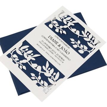 Convite Casamento Bird Wedding (laser)