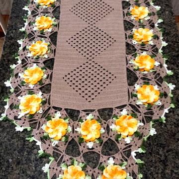 Caminho de Mesa - Floral