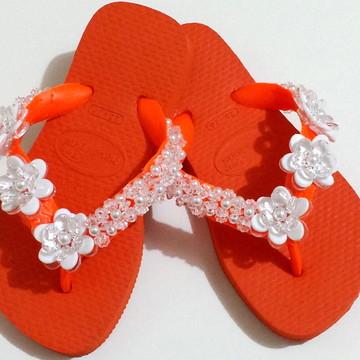 Chinelo Havaianas Infantil Customizado
