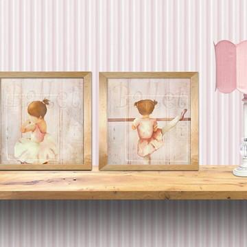 gravuras meninas bailarinas - decoração