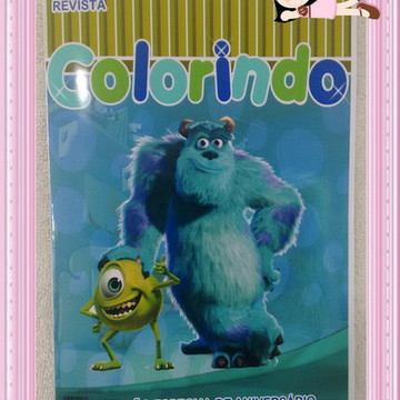 Revista Colorir Monstros SA
