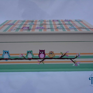 Caixa de Joias Corujinhas 9