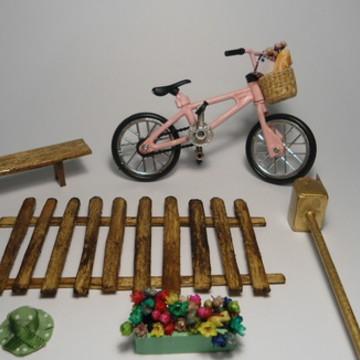 Kit de Miniaturas - Bicicleta Vintage