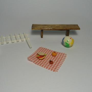 Kit de Miniaturas - PicNic Simples
