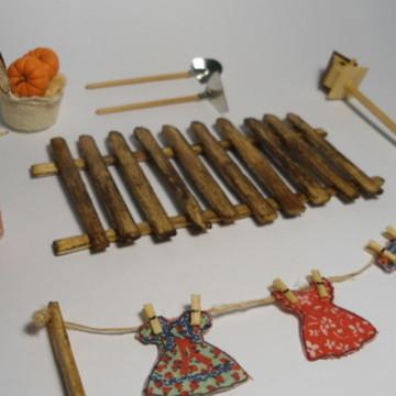 Kit de Miniaturas - Quintal Completo
