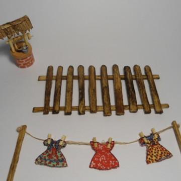 Kit de Miniaturas - Quintal Simples