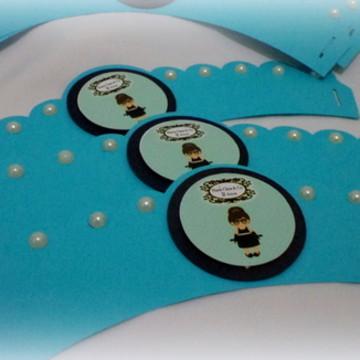 Wrapper para cupcacke Bonequinha de Luxo