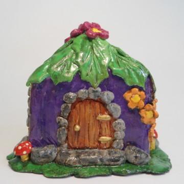 Casa da Fada Roxa