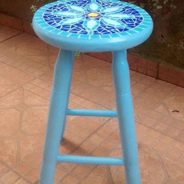 Banqueta Azul