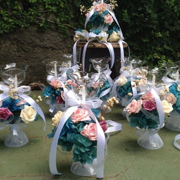 kit velas festa 15 anos & corsages