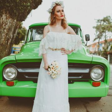 Vestido de noiva Lucy - Boho Chic