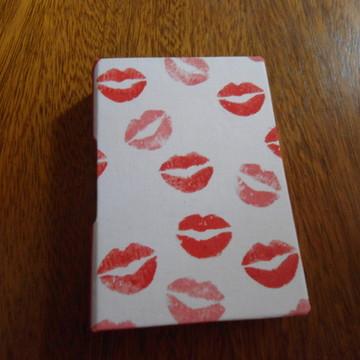 Caderno beijo