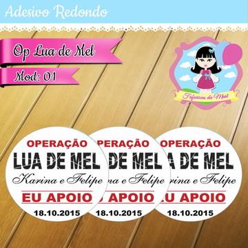 Adesivo digital - Op Lua de Mel
