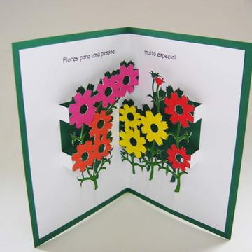 Cartão flores - 10914a