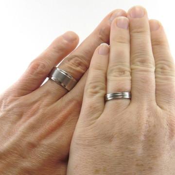 Alianças de casamento ÚNICAS.