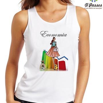 Camiseta Profissões - Economia 1