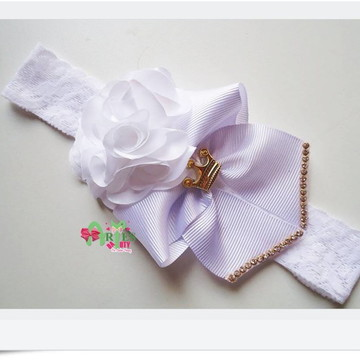 Headband Infantil Flor