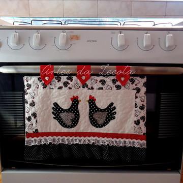 Capa para tampa do forno de fogão